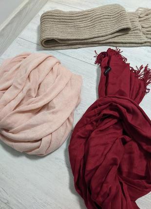 Набор из 3 шарфов