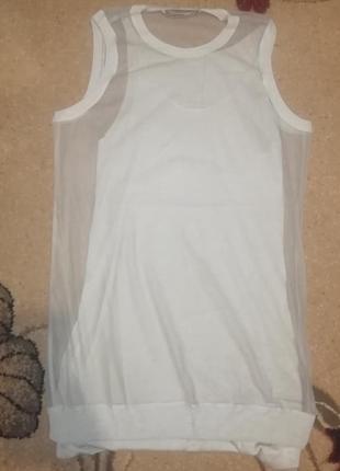 Очень красивое силуетное платье двойка 2 10 размер