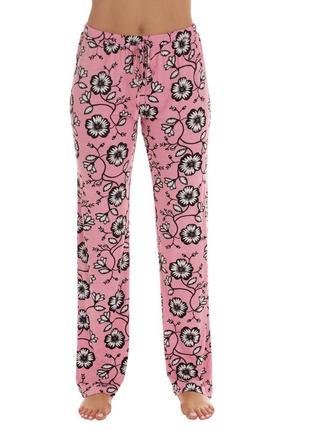 Тёплые флисовые штаны для сна и дома