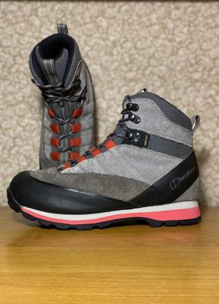 Мужские трекинговые зимние ботинки замшевые кожаные berghaus picos gore tex оригинал