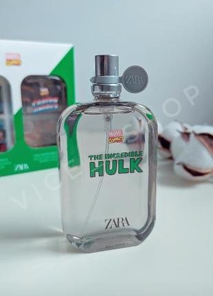Zara hulk детские  духи парфюмерия туалетная вода оригинал испания