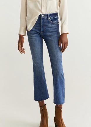 Актуальные джинсы mango