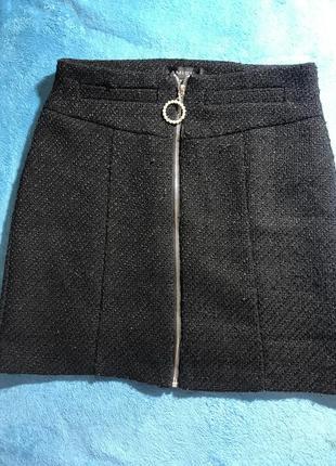 Твидовая юбка amisu