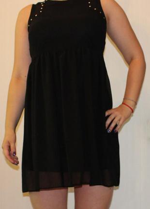 Эффектное чёрное платье  dorothy perkins