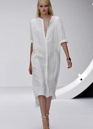 Удлиненная рубашка - платье