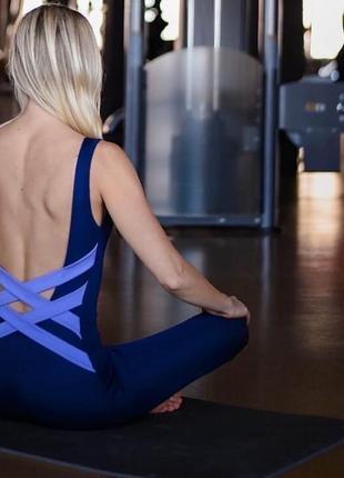 Комбинезон для фитнесса и йоги