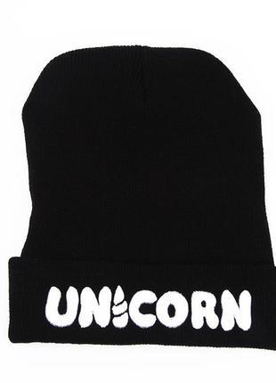 Стильна модна шапка unicorn 13254