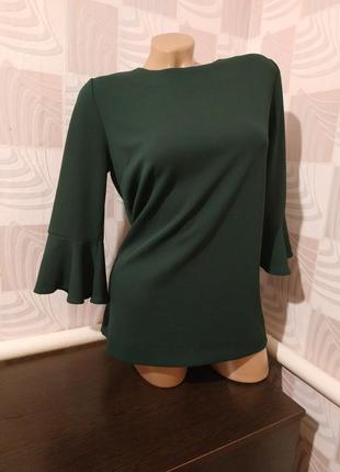 Изумрудная блуза джемпер от next