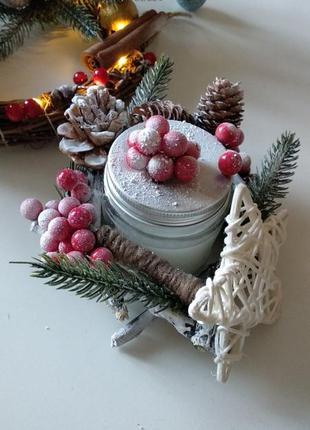 Новорічний декор. свічка.