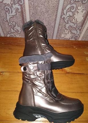 Шикарні зимові сапожки-черевики фірми башили дуже модні