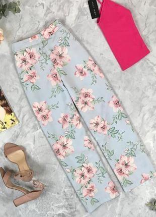 Изысканные брюки в цветочный принт  pn1927052  new look