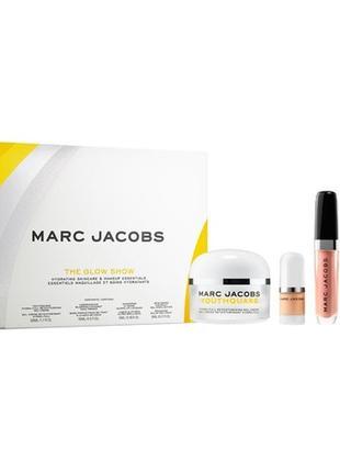 Marc jacobs youthquake the glow show набор для увлажнения и макияжа  лица
