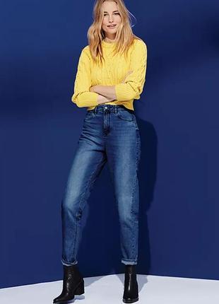 Качественные мом джинсы, джинсы с высокой посадкой