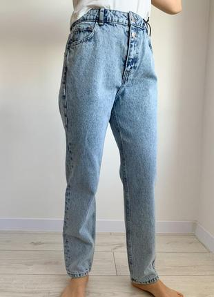 Джинси жіночі, прямые джинсы, сині голубі джинси, джинсы варенки.