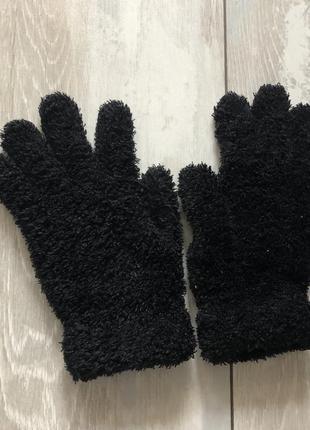 Рукавички травка, рукавиці чорні