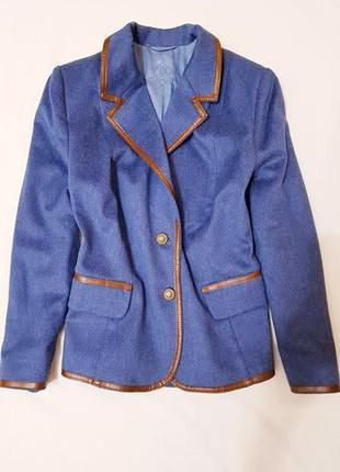 Liz malraux design германия пиджак жакет кашемир люкс