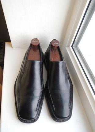 Кожаные туфли ecco р.43