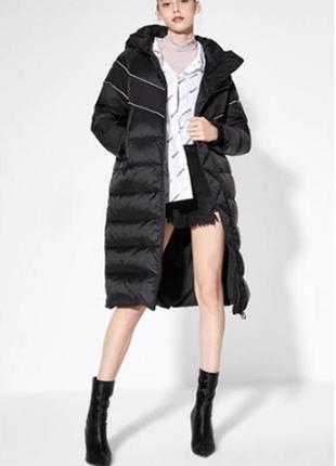 Пуховик натуральный пух плащ  пальто куртка  от фирмы vero moda