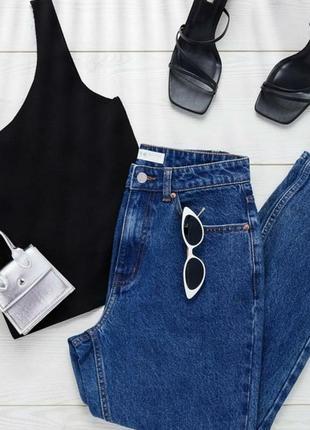 Джинсовые брюки, мом джинсы