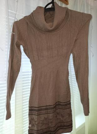 Платье- свитер