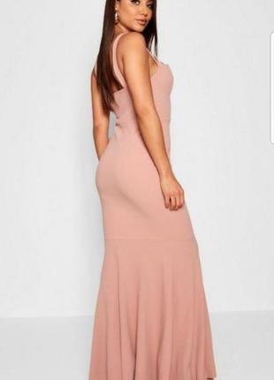 Новое платье макси boohoo p.m