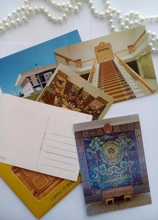 Гэрлэх ёслолын ордон набор открыток в конверте  монголия дворец бракосочетания винтаж