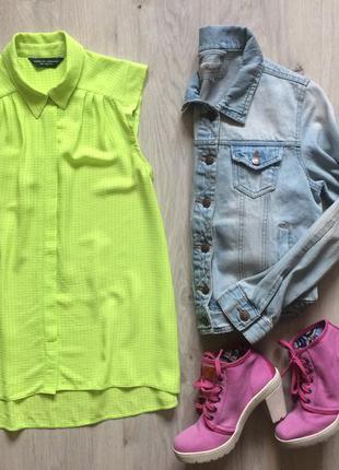 Летняя шифоновая блузка dorothy perkins