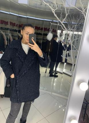 Твидовое пальто etro оригинал