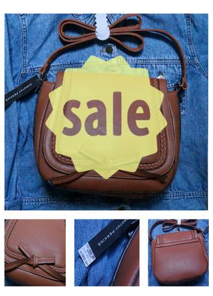 Новая стильная коричневая сумка на плечо от dorothy perkins
