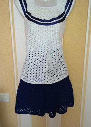 Летний костюм (юбка и блуза) тм мирамод