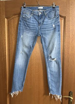 Джинсы от zara рваные джинсы 👖👍🏼