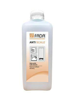 Засіб для видалення накипу фада анти накип (fada™ anti scale), 1 л