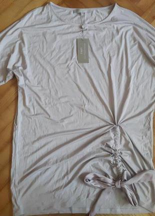 Трикотажная блуза с драпировкой от fwm! p.-16