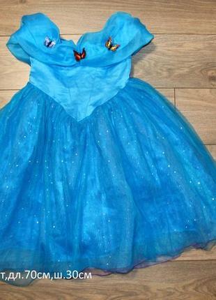 Шикарное платье на вид 5-6лет