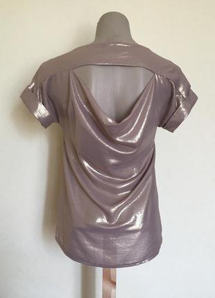Доступно - нарядная блуза с красивой спинкой *dorothy perkins* 6/34 р.