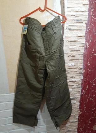 Ватние брюки штаны большие
