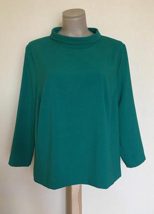 Доступно - стильная плотная блуза *atmosphere* 18 р.