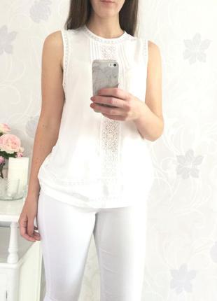 Блуза promod размер м 100% вискоза