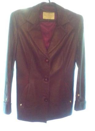 Пиджак-куртка женская натуральная кожа