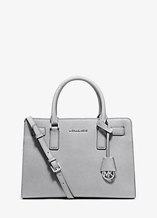 Сумка michael kors saffiano leather dillon saffiano leather satchel