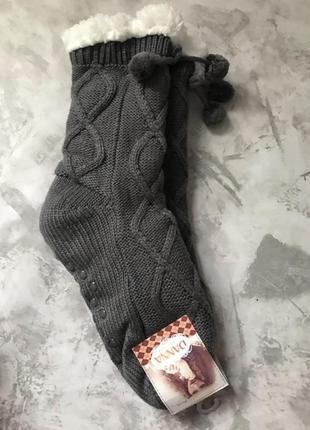 Зимние тёплые носки