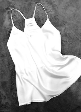 Vicolo италия блуза блузка топ в бельевом стиле на тонких бретелях s