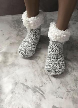 Новогодние носки разные цвета