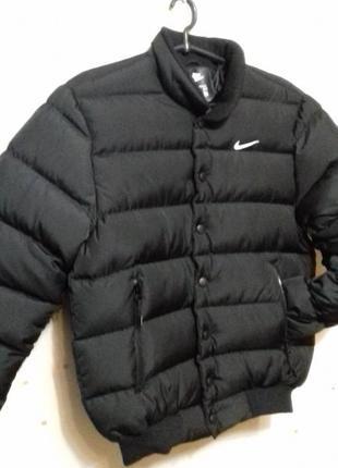 Куртка зима nike пуховик