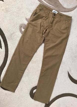 Котоновые зауженные брюки jacamo 36 l