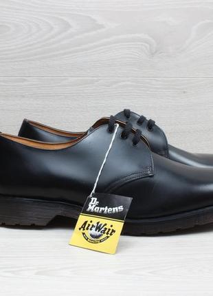 Кожаные мужские туфли dr. martens england оригинал, размер 46