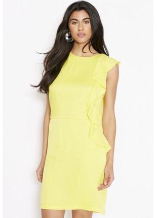 Праздничное платье вечернее рюшвечірня сукня сукня s xs