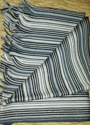 Фирменный новый шарф мужской