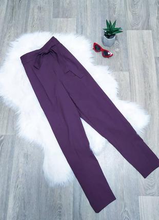 Классические брюки баклажанового цвета 😍