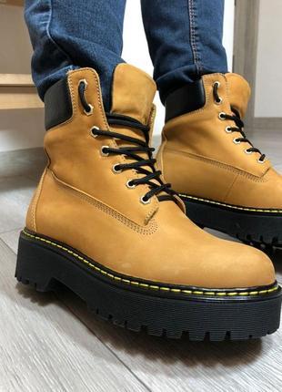 Ботинки кожаные! супер цена! новые!